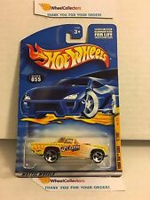 '57 T-Bird #55 * Yellow * 2001 Hot Wheels * J17