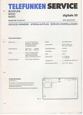 Service Manual Telefunken Rundfunk Radio Digitale 30 (128)