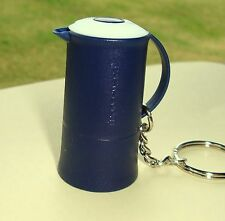 Tupperware Keychain - Dark Blue Thermos/Carafe