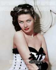 YVONNE DE CARLO IN SEXY CORSET BEAUTIFUL COLOR PHOTO BY CHIP SPRINGER