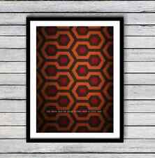 Redrum A3 Print SHINING OVERLOOK HOTEL  3 for 2 OFFER FREE POST CHEAPEST ON EBAY