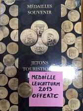 LIVRE ALBUM POUR 60 MEDAILLES MONNAIE DE PARIS + LA MEDAILLE LEUCHTTUM OFFERTE
