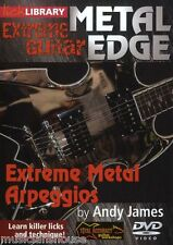 LICK LIBRARY EXTREME GUITAR Metal Edge ARPEGGIOS Learn to Play Rock Shred DVD