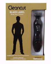 Cleancut Ultimate Black Label Body Hair Shaver Intimate/Pubic/Back