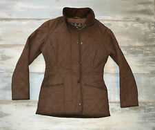 brown womans jacket BARBOUR size UK 8/ EURO 34
