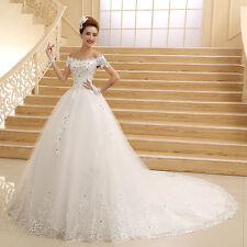 2016 Brauch Ballkleider Brautkleid Abendkleid Hochzeitskleid Gr 32 34 36 38 40