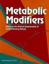 1994-01-01, Metabolic Modifiers: Effects on the Nutrient Requirements of Food-Pr