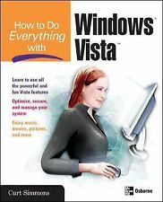 How to Do Everything with Windows Vista