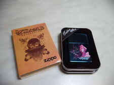 ZIPPO ACCENDINO LIGHTER FEUERZEUG TATTOO ART 24043  VERY RARE NEW