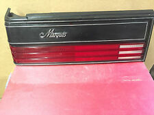 E34B-13441 1985/87 Mercury Marquis Left Hand Rear Tail Light Assembly