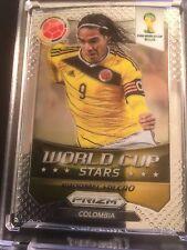 COLOMBIA  2014  FALCAO  World Cup *** Stars*** Silver Prizm Panini Soccer #33