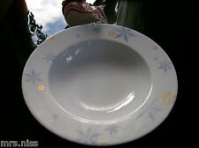 Rosenthal Solitaire Snowflake 4 x Christmas Suppenteller 24 cm *NEUWARE 1.Wahl*
