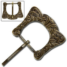 Medieval Renaissance  Brass Viking Belt Buckle Costume Cosplay LARP