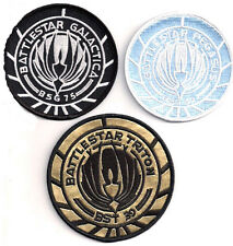 Battlestar Galactica/Pegasus/Triton Embroidered Patch Set of 3 (BGPA-Set-3)