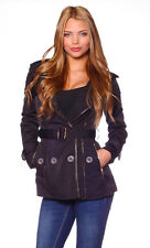 Fashion Vivi New Woman's trench coat with leather pants. Available in 4 colors!