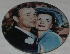 Roy Rogers & Dale Evans Wedding Day Pin 1.75""