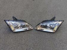 Replacement Headlight Lamps Pair For Ford Focus Mk2 2005-2007