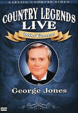 George Jones - Country Legends Live Mini Concert, New DVD, George Jones, N/a