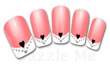 3D Nail Art Sticker Decals Transfer Stickers French Tip Design (3D816)