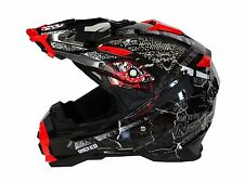 Moto cross quad vtt Casque Nikko road pirate-tailles xs à xxl
