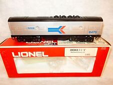 "Lionel #6-8475 Amtrak F3 ""B"" unit diesel dummy O gauge-New with nice original bx"