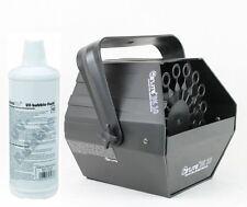 MACCHINA delle BOLLE di SAPONE BK10 + liquido per le bolle incluso