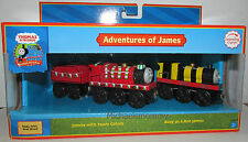 THOMAS THE TANK & FRIENDS-ADVENTURES OF JAMES 2006 W/2 COLLECTOR CARDS **NIB**