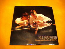 Cardsleeve Single cd KASPER VAN KOOTEN & BAAS B. Ze Zeggen 2TR '06 dutch chanson
