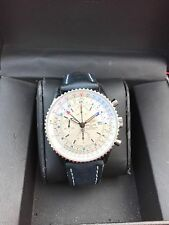 Breitling Navitimer World Gmt Chronograph Auto Men Watch A24322