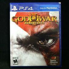 God of War III: Remastered (Sony PlayStation 4, 2015) Brand New, Factory Sealed