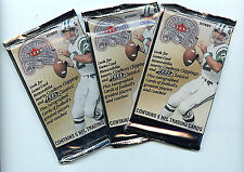 Fleer 2000 NFL Greats of the Game Football 3X Trading Card Packs New FS