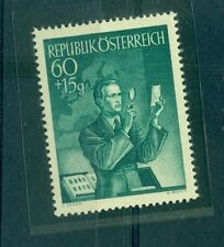 JOURNEE DU TIMBRE - STAMP DAY AUSTRIA 1956