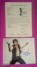 HARRISON FORD SIGNED JSA AUTHENTICATED LOA COA HAN SOLO FROM STAR WARS PHOTO