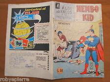 Superman Nembo Kid Albi del falco n 369 catastrofe 12-5-1963 mondadori editore
