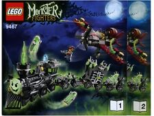 INSTRUCTIONS ONLY LEGO TROLLS MOUNTAIN FORTRESS 7097 Castle manual book from set