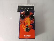 DUNLOP JIMI HENDRIX  JHM3 UNIVIBE EFFECT PEDAL 70th ANNIVERSARY LIMITED EDITION