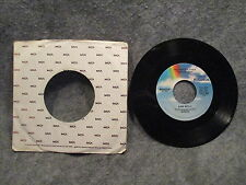 """45 RPM 7"""" Record Sam Neely What Do I Tell My Heart & The Party Is Over MCA-52194"""