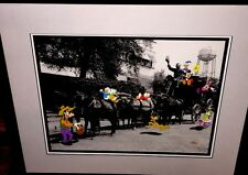 Disney Mickey Minnie Mouse Cel  WALTS STAGECOACH Rare Animation Edition cell