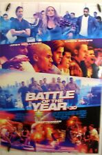"""Battle of the Year - 27""""x40"""" 2 sided ORIGINAL Movie Poster - Josh Holloway"""