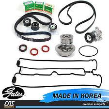 Gates HTD Timing Belt Kit Water Pump AC Belt Tensioner 04-08 Suzuki Forenza Reno