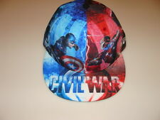 New Era Cap Hat Captain America Iron Man Civil War Marvel All Over 59FIfty 7 1/4