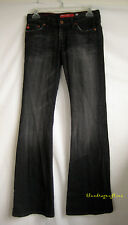 BIG STAR Black FLARY Flare Jeans Pants ~ 26R ~ Excellent!