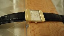 CONCORD CRYSTALE 18K YELLOW GOLD WATCH UNISEX