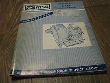 Used ATSG  1990's Chrysler A-604 Techtran Manual book