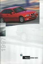 Auto Brochure - BMW - Product Line Overview - 1997  (A1146)