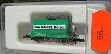 Haniel Huile à chauffage,Chaudière vert,Les wagons-citernes col  87710 Märklin