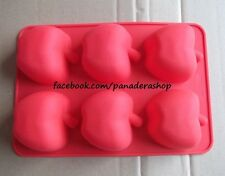 Apple Silicon Rubber Soap Cake Jelly Chocolate Mold Molder Bakeware
