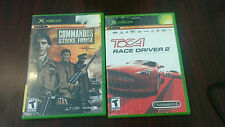 Commandos: Strike Force & Toca Race Driver 2 for Microsoft Xbox, 2 Games
