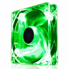 EZCool 120mm Green LED PC Case Fan 12CM Quiet Silent With 3-Pin Connector