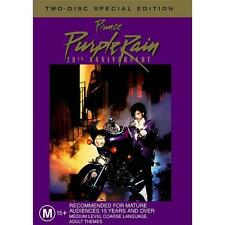 PRINCE (PURPLE RAIN - 2 DISC DVD SET SEALED + FREE POST)